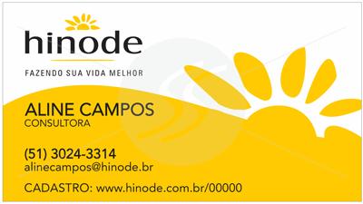 cartao de visita hinode clean - Cartões de Visita Hinode