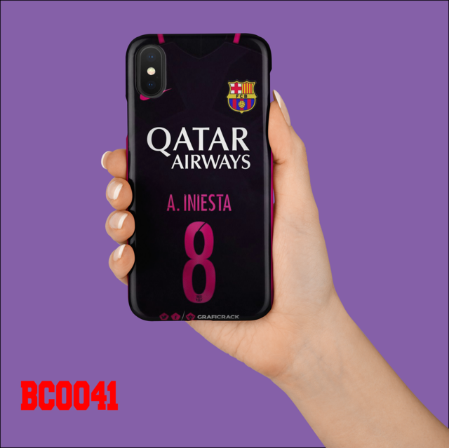 casing hp kaos barca qatar airways hitam