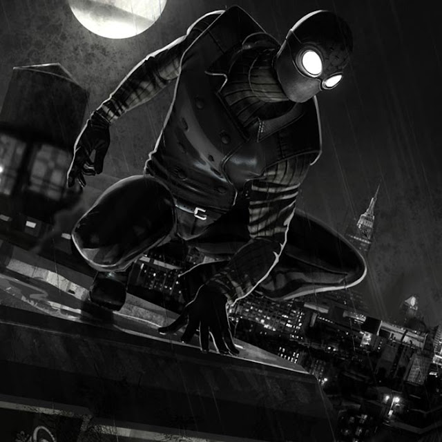 Spider Man Noir Wallpaper Engine