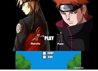 Game hành động Naruto vs Pain cực hay