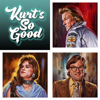 "MondoCon 2019 Exclusive ""Kurt's So Good"" Series Print Set by Jason Edmiston"