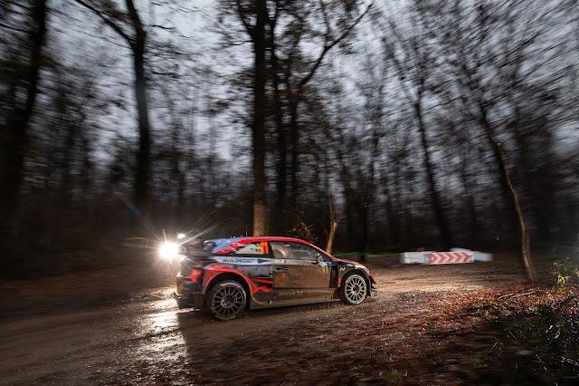 Monza Rally at night