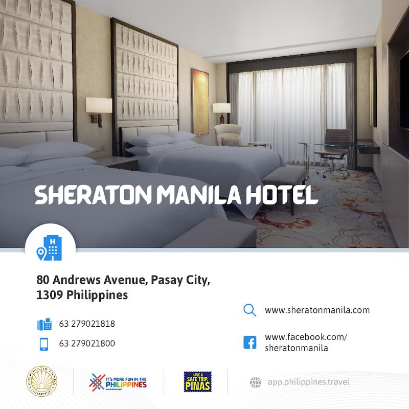 Sheraton Manila Bay New Normal Hotels in Metro Manila DOT-Accredited Hotels