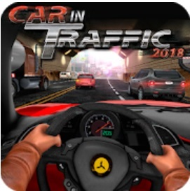 Download Car In Traffic 2018 MOD APK