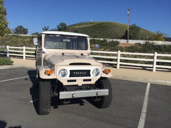1971 Land Cruiser FJ40 Powered By 350 V8