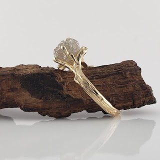 Twig Engagement Rings