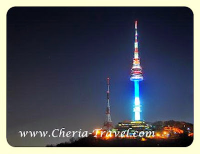 Namsan at Night