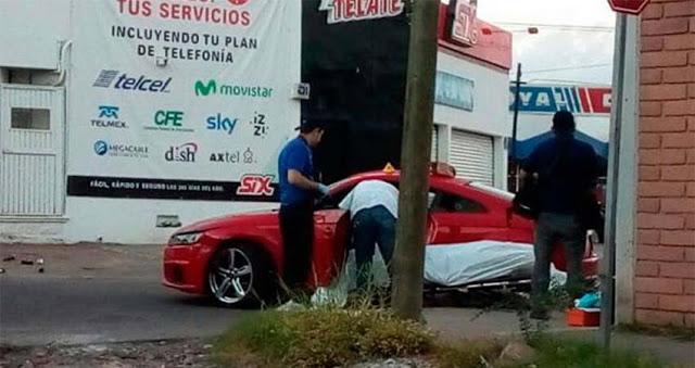 La ejecución a bordo de lujoso Audi deportivo de sobrino de Javier Torres Félix en Culiacán