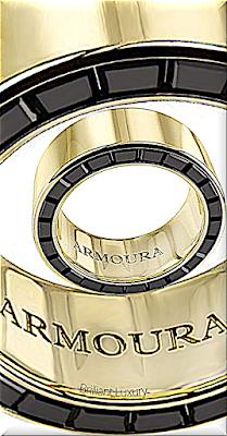 ♦Armoura Darclight ring in 18k yellow gold with black onyx #jewelry #armoura #brilliantluxury