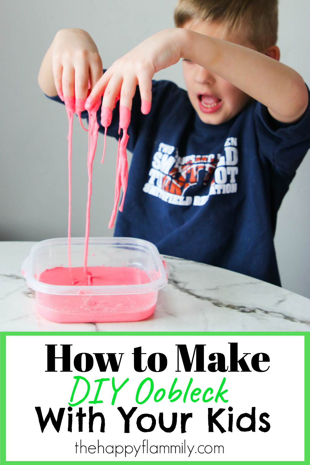 How to make oobleck. How to make oobleck at home. Dr Seuss Bartholomew and the Oobleck. Super inexpensive fun kitchen experiment. Science experiment for kids. Homeschool science ideas. Homeschool art ideas. Sensory play at home. Home OT and PT ideas. Oobleck recipe. Oobleck Experiment. DIY oobleck. Oobleck craft. Oobleck slime. Quarantine activity ideas. #oobleck #drseuss #slime #craftsforkids #pt #ot #sensory #homeschool #science #quarantine #pandemic