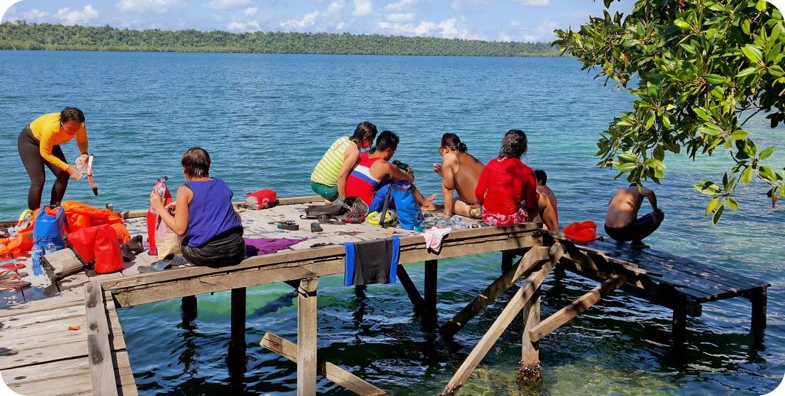 Nongkrong Keren Di Danau Kakaban
