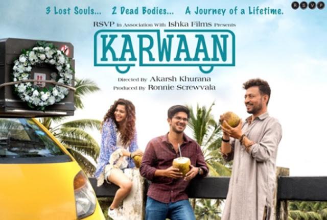 Karwaan - 10 best bollywood hindi movies of 2018