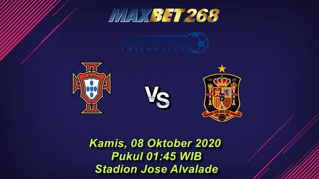 Prediksi Portugal Vs Spanyol, Kamis 08 Oktober 2020 Pukul 01.45 WIB @ Mola TV