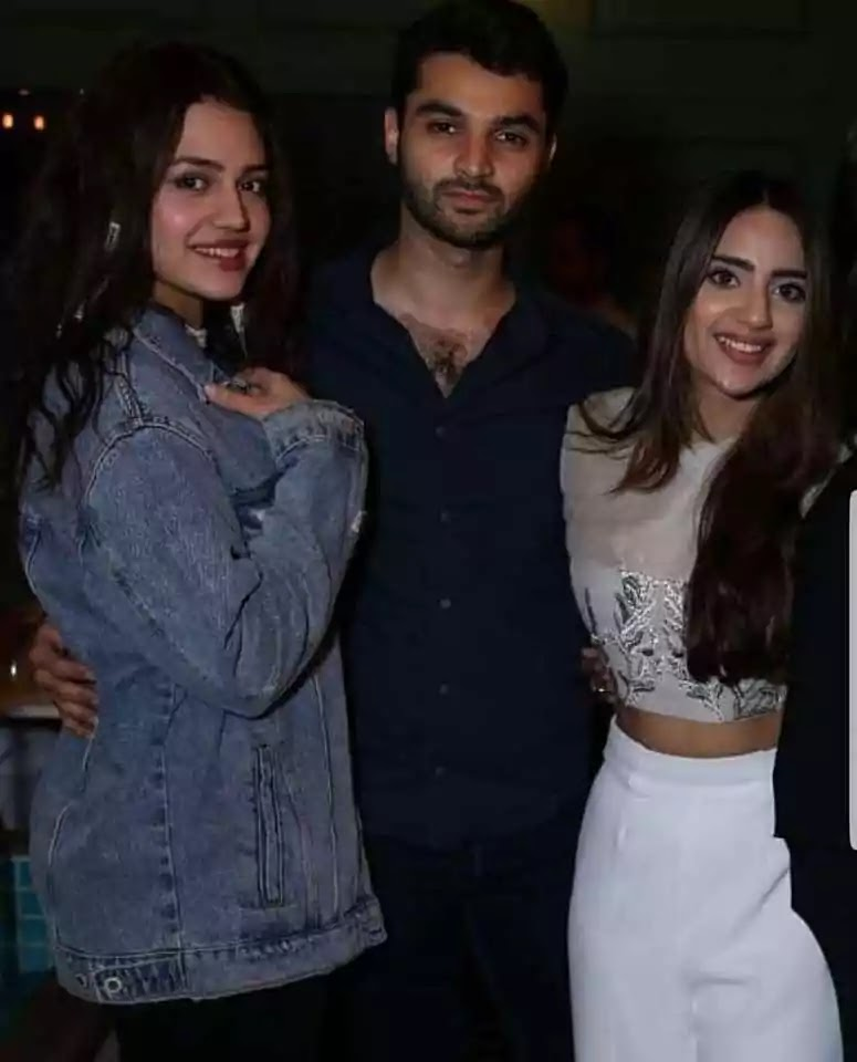 Saboor Ali Host The Grand Party At Home With Showbiz Friends