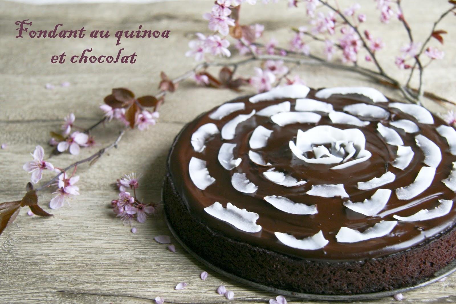 Fondant Au Quinoa Et Chocolat