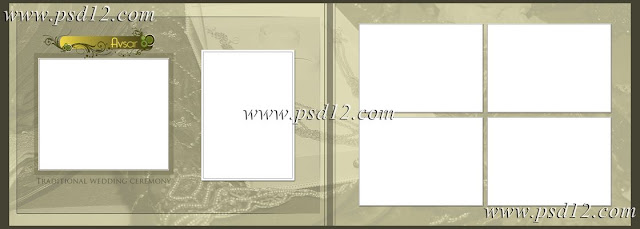 10x28 Vidhi Wedding Photo Album Templates Vol-1
