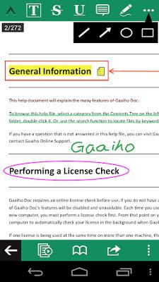 تحميل تطبيق Gaaiho PDF Reader