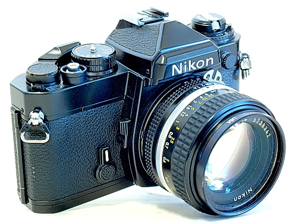 Nikon FE 35mm MF SLR Film Camera