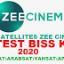 Zee Cinema Biss key 2020