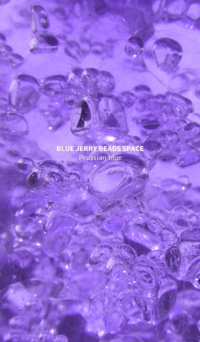 BLUE JERRY BEADS SPACE Prussian blue