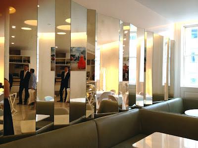 Bond and Brook afternoon tea mirrors
