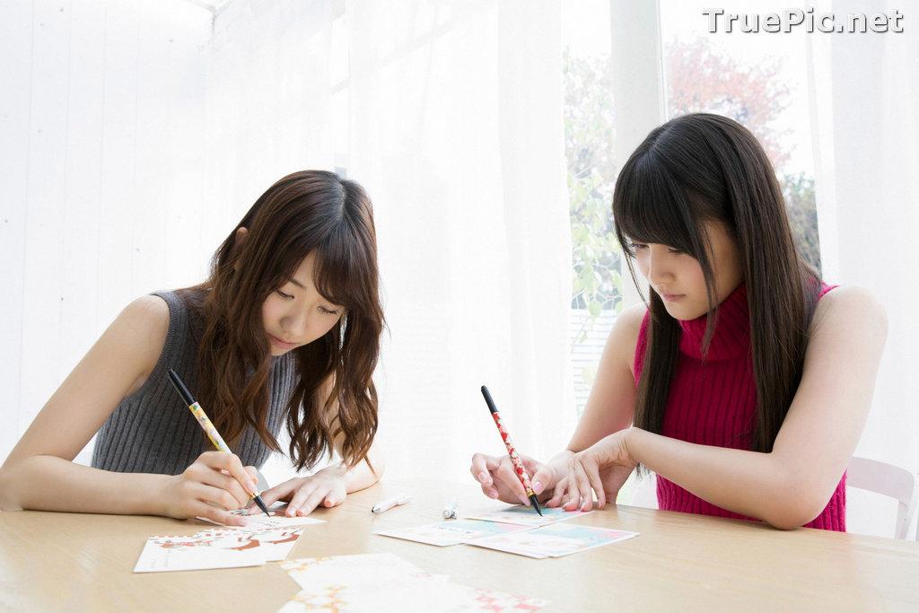Image YS Web Vol.633 - Japanese Model - Yuki Kashiwagi & Anna Iriyama - TruePic.net - Picture-8