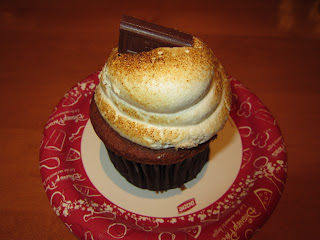 S'mores Cupcake- Roaring Forks