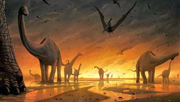 Journey to the Edge of Time: DINOSAURS EXTINCTION - HYBRID ...