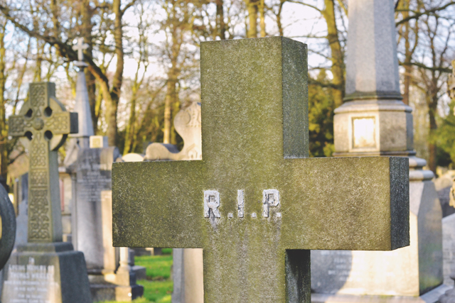 Headstone RIP