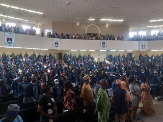 LASU Matriculates Over 1,000 Sandwich Students for 2020/2021