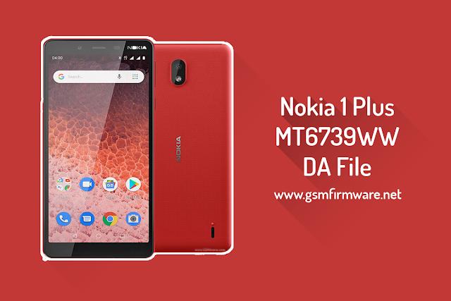 Nokia 1 Plus TA-1130 MTK DA File MT6739WW [Download-Agent]