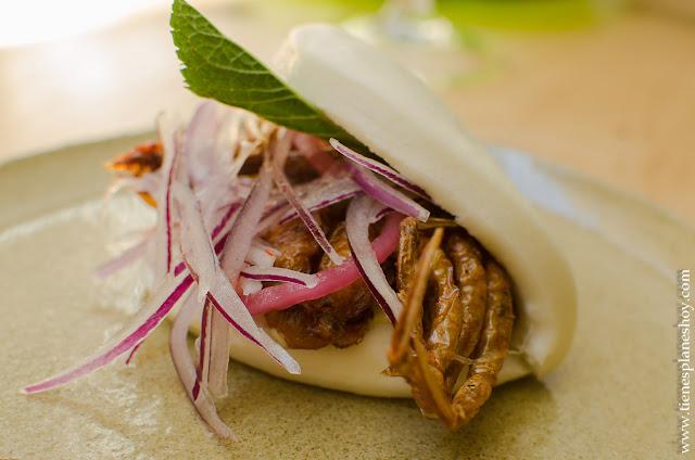 Buns de cangrejo restaurante Navaja Madrid