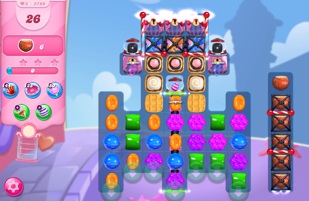 Candy Crush Saga level 5799