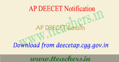 AP DEECET Results 2019, ap dietcet ( ttc ) result download 2019