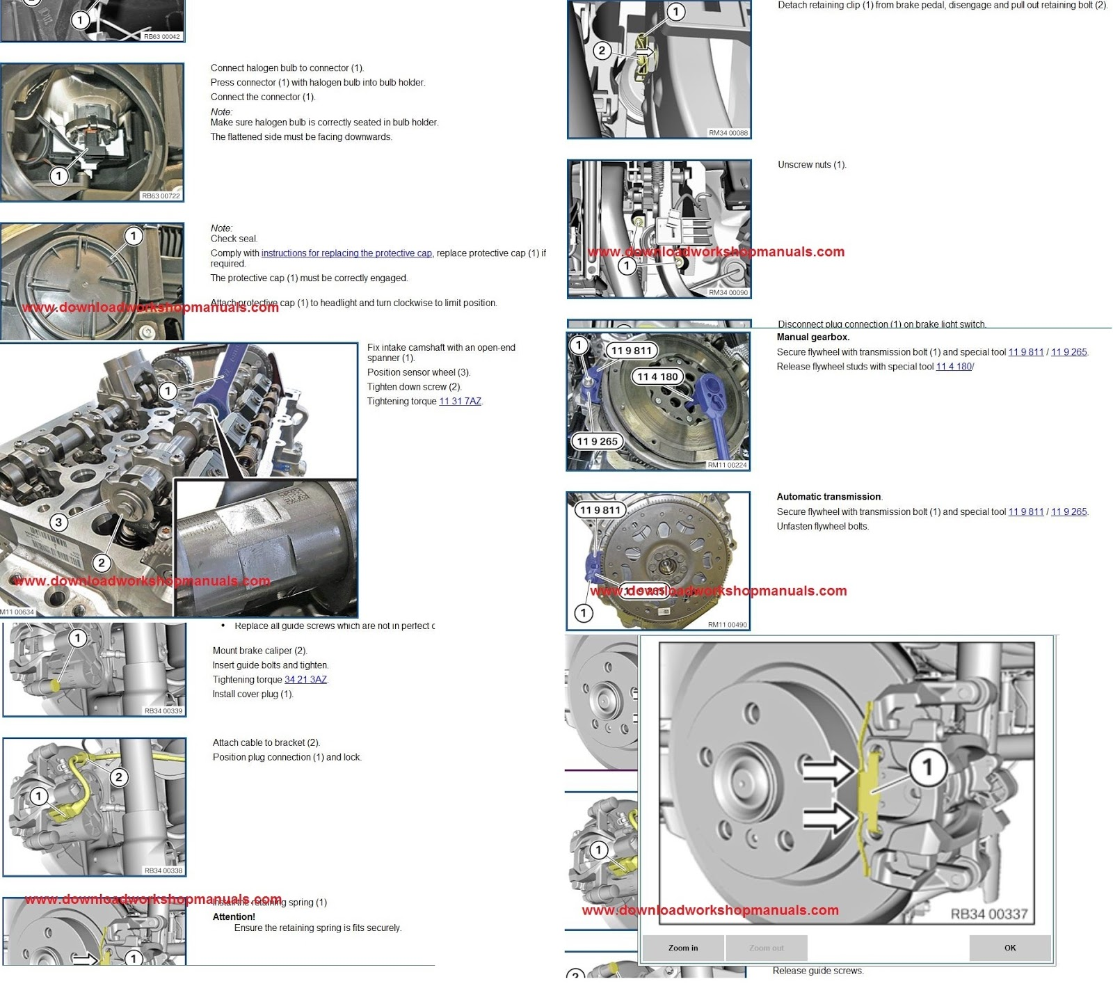 TIS Technical Information System Workshop Repair Manual BMW and MINI