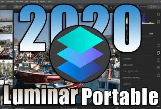 تحميل برنامج تحرير وتعديل الصور Luminar Portable اخر اصدار نسخة محمولة مفعلة