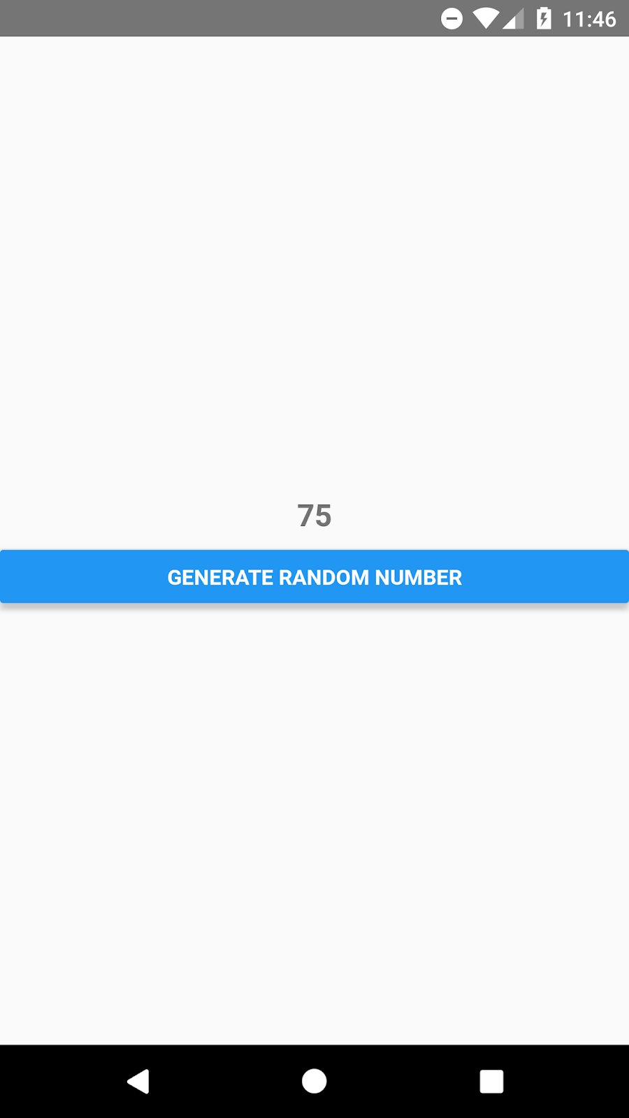 React Native Generate Random Number Between 1 to 100 in Android or