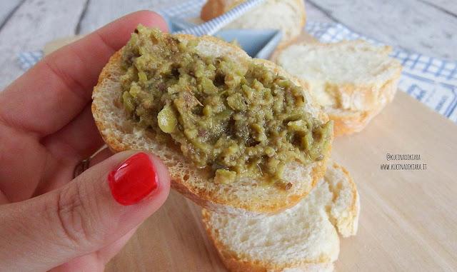 Tapenade alle olive verdi