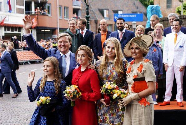 Queen Maxima, Princess Amalia, Princess Alexia, Princess Ariane