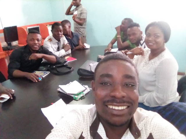 Empower Bayelsa Blogging and Web Development beneficiaries