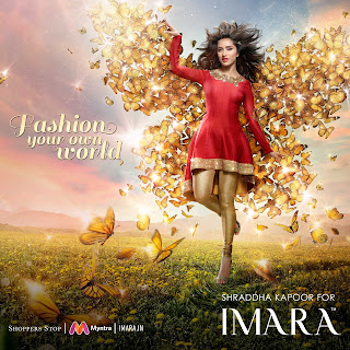 IMARA fashions a new brand campaign for A/W 16 with Shraddha Kapoor