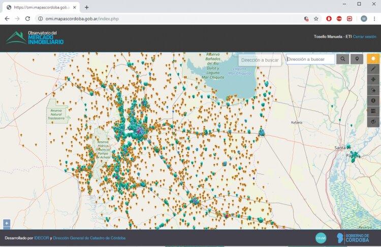 Mercado inmobiliario, crean una app que muestra los costos actuales en Córdoba