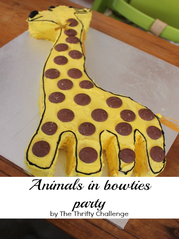 Animals in Bow ties Party #partyideas #1styearparty #babypartyideas