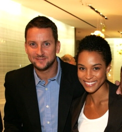 Picture of Mike McGlaflin with his wife Brooklyn Sudano