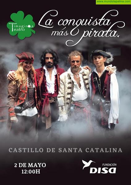 El Ayuntamiento capitalino celebra este domingo la obra teatral 'La Conquista más pirata'