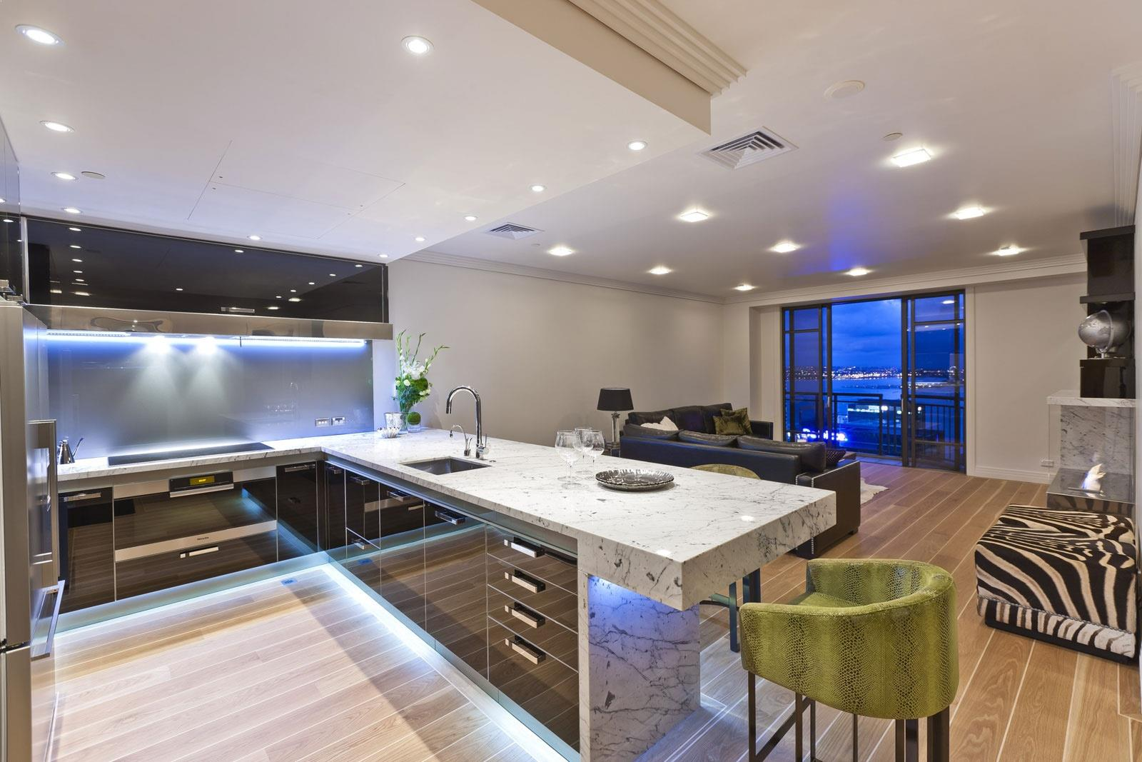 Luxurious Modern Kitchen Design Home Interior Exterior Decor Design Ideas