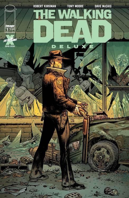 Quadrinhos de The Walking Dead volta a ser publicado agora em cores