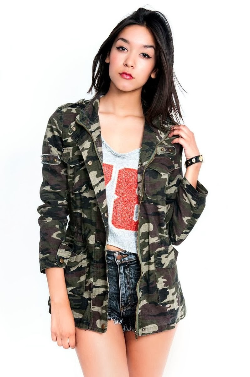 Camo Jacket by Slimskii.com