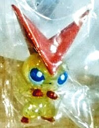 Victini figure clear with sparks Takara Tomy Monster Collection 2011 Takara Tomy summer promotion