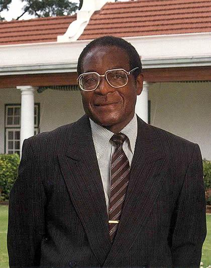Robert Mugabe - Zimbabwean President